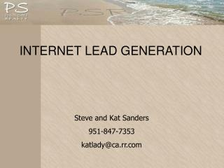 INTERNET LEAD GENERATION