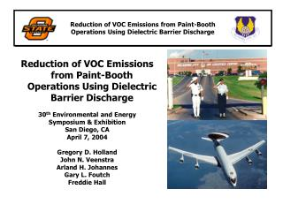 GAS CORONA TECHNOLOGY FOR TREATMENT OF VOC PAINT BOOTH EMISSIONS
