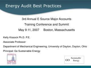 Energy Audit Best Practices