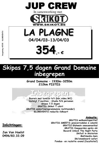 Grand Domaine  –  1930m-3250m 2 12 km PISTES