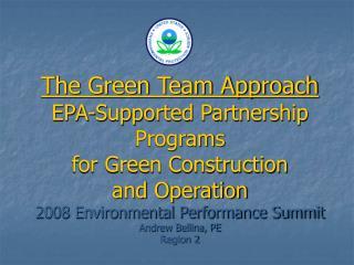 Green Team Concept