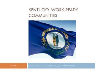 Work Ready Communities