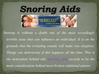 Stop Ignoring This Snoring Problem
