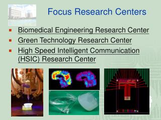 Focus Research Centers