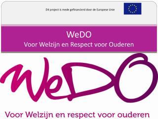 WeDO Voor Welzijn en Respect voor Ouderen