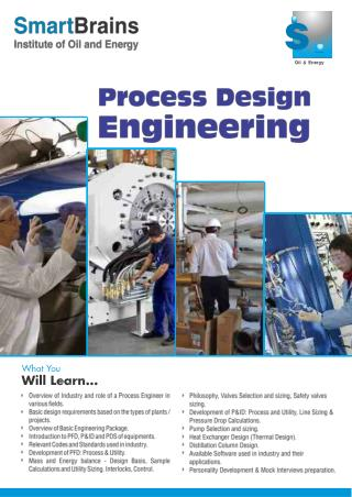 Process Design Engineering in NCR