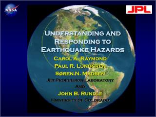Understanding and Responding to Earthquake Hazards