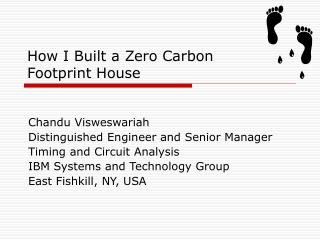 How I Built a Zero Carbon Footprint House
