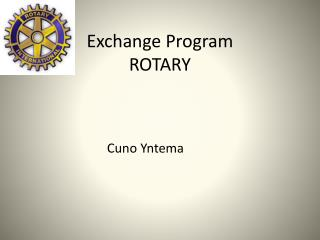Exchange Program ROTARY