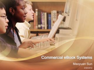 Commercial eBook Systems
