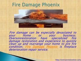 Water damage phoenix