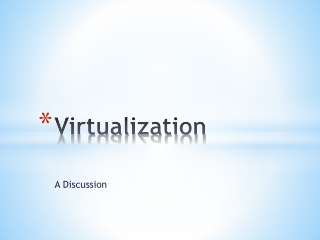 IBM System p  Virtualization
