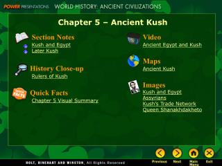 Chapter 5 � Ancient Kush