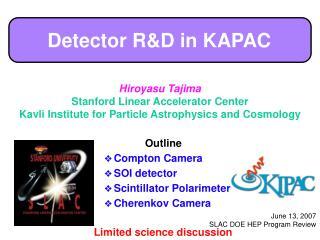 Detector R&D in KAPAC