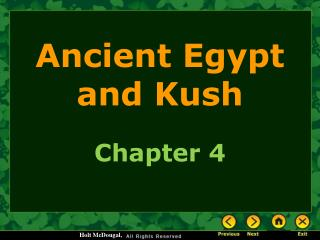 Ancient Egypt and Kush
