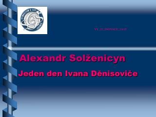 Alexandr Solženicyn
