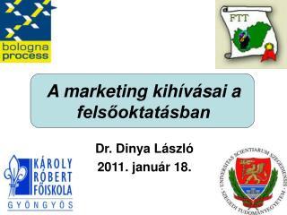 A marketing kihívásai a felsőoktatásban