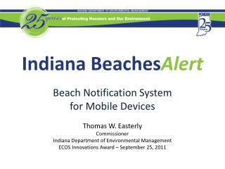 Indiana Beaches Alert