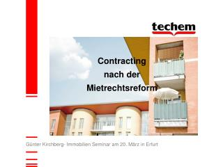 G�nter Kirchberg- Immobilien Seminar am 20. M�rz in Erfurt