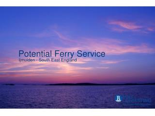 Potential Ferry Service