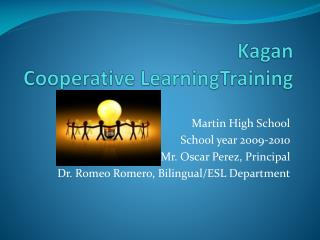 Kagan Cooperative LearningTraining