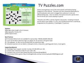 TV Puzzles