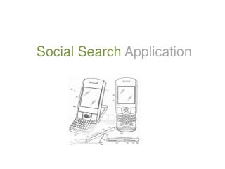 Social Search  Application