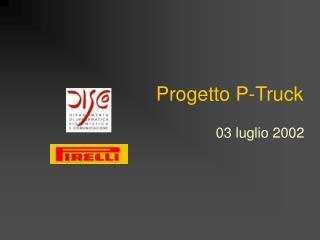 Progetto P-Truck