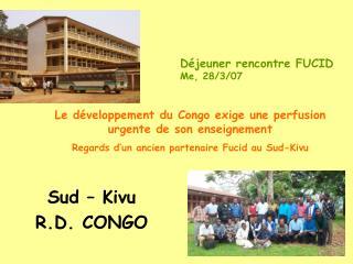 Sud – Kivu R.D. CONGO