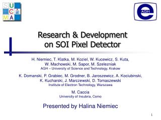 Research & Development  on SOI Pixel Detector