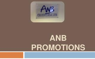 ANB Promotions Ltd