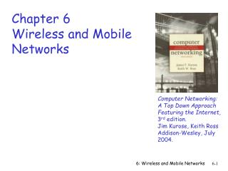 6: Wireless and Mobile Networks