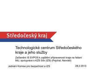 Technologické centrum Středočeského kraje a jeho služby
