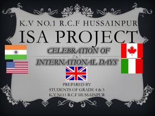 ISA PROJECT