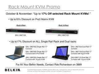 Rack Mount KVM Promo