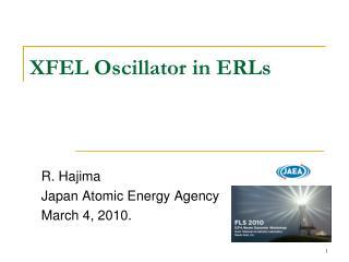 XFEL Oscillator in ERLs