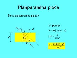 Planparalelna ploča