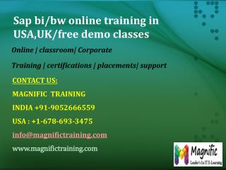 sap mdm online training
