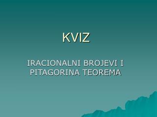 KVI Z