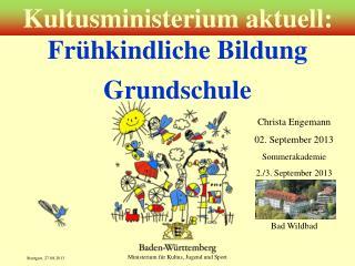 Frühkindliche Bildung Grundschule