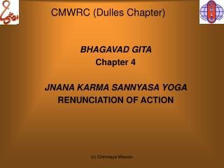 CMWRC (Dulles Chapter)
