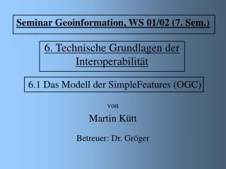 6. Technische Grundlagen der Interoperabilität