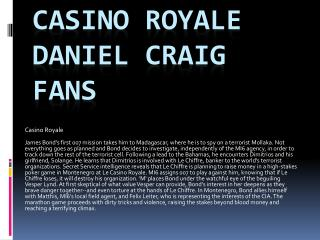 Daniel Craig Fans Jackets