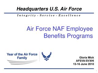 Air Force NAF Employee Benefits Programs