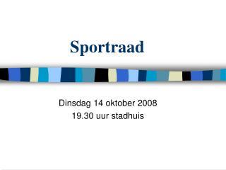 Sportraad
