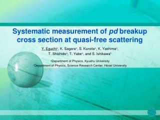Systematic measurement of  pd  breakup cross section at quasi-free scattering
