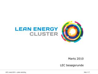 Marts 2010 LEC besøgsrunde