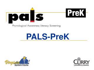 PALS-PreK