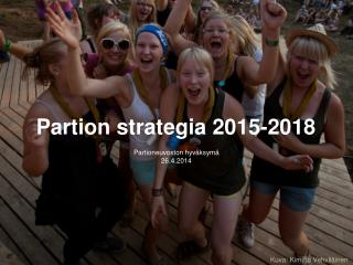 Partion strategia 2015-2018