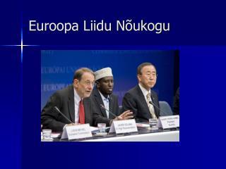 Euroopa Liidu Nõukogu